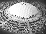 Erie County Domed Stadium, Buffalo, 1970